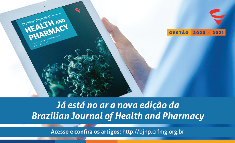Já está no ar mais uma edição da nossa revista científica, a BJHP